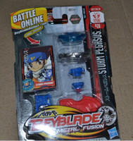 Wholesale 2011 Newest HOT Beyblade Spin Top Toy Clash Beyblade Metal Fusion Battle Online