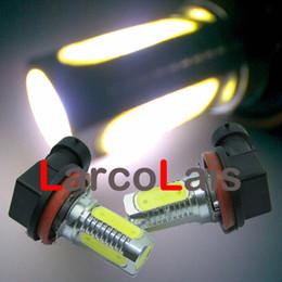 BEST QUAULITY White 2 x H11 6W LED Car Fog Light Super Bright Headlight Bulb Light Lamp 12V DC