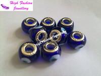 Wholesale fashion Turkey blue eyes beads high quality DIY glass lampwork beads mix colors MOQ