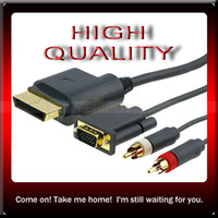 Wholesale High Definition HDTV AV HD VGA Cable for XBOX US