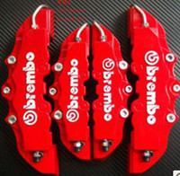 Wholesale high quality Latest D ATV UTV ABS Brembo Look Brake Caliper Cover Kit Front Rear