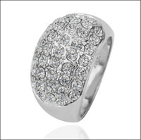 Discount Diamond Fashion Rings Hot new fashion ring K white