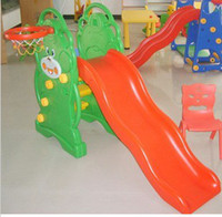 Wholesale Toddler slide baby slide small plastic slide indoor slide garden slide