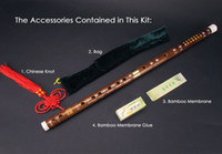 Wholesale Good Timbre Classic Keys Bamboo F Flute Dizi Kit