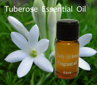Wholesale Tuberose Essential Oil Home fragrance oil in amber ml glass For Burner Warmer humidifier
