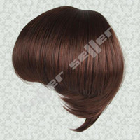 Wholesale hair pieces Dark Brown Girl s Hairpiece Big Hair Bun Hair Extensions For Bride Buns