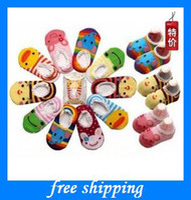 Wholesale boy girls Cartoon floor socks baby gifts dispensing cotton children supplies clothes