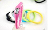Digital anion watches - Factory Sell Jelly Wrist Watch Anion Fashion Colorful Silicon Sportman Power Watch