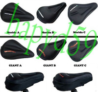 Wholesale GIANT MERIDA mountain soft silicone cushion bicycle saddle pad seat cover breathable comfort