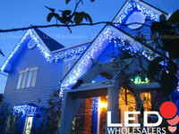 Wholesale Linkable Outdoor Icicle Christmas Xmas Holiday Lights LED feet m christmas ornament