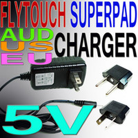 Wholesale Power Adapter V A USA EU UK AU home Plug Charger for Q88 Flytouch SuperPAD ZTPad Tablet PC