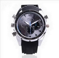 Wholesale 8GB P Waterproof Watch Camera IR Night Vision DVR egomall