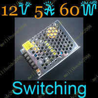 Wholesale 5pcs C20 V A W Switching Power Supply for LED Strips Lights RGB
