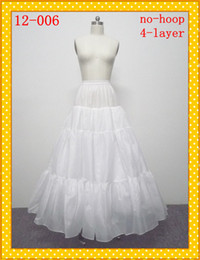 Wholesale Hot Sale Taffeta Layers Petticoat Crinoline Underskirt A line Wedding Dresses Bridal Gowns