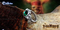 Wholesale Fashion Capeain Jack Sparrow s Skull Rings High Quality Cool Rings inch Good selling