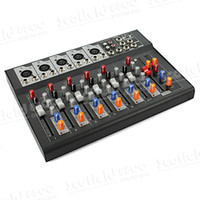 Wholesale 7 Channel Mixing Console F7 Mixer Console DJ Karaoke Music Power Mixer for Stage Home Karaoke