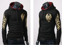 Wholesale Men s Cotton Blends Printing Hoody Popular Men s Coat Fashion Men s Hoody Men sweater hedging
