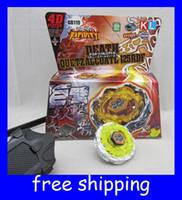 Wholesale 4D BeyBlade Metal Fusion Death Quetzalcoatl BB119 RDF quot New D Tops kids toys