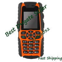 Wholesale Brand Orange quot Military S8 Anti Waterproof Dustproof Shockproof Single Sim Card Cell Phone