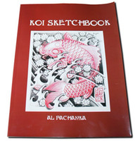 Wholesale NEW KOI SKETCHBOOK FLASH MAGAZINE ART BOOK TATTOO SUPPLY A4 Size