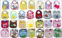 Wholesale HOT Infant Saliva Towels layer Baby Bib Waterproof Bib Mark The New Carter Bib