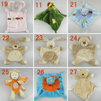 Wholesale Abar HOT DF Random Nicotoy Bunny Baby Security Blanket Comfort Comforter Free ship