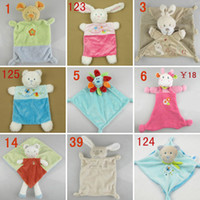 Wholesale Abar Nicotoy Bunny Baby Security Blanket Comfort Comforter