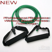 Wholesale Professional Resistance Workout Bands Fitness Tube Yoga