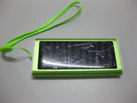 Wholesale Convenient multi function Solar Cell Charger Battery Panel Phone Camera PDA MP3 MP4 USB mAh