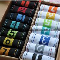 Wholesale wholesales week sock day of sock lover sock gentleman sock women sock purified cotton sock a1
