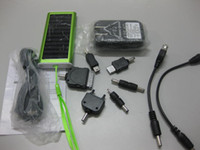Wholesale Worldwide mini battery Pack Solar emergency Cell Charger mAh Phone Camera PDA MP3 MP4 USB Laptop