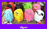 Wholesale popular shoulder bags children gifts cute cartoon animal baby backpack bag cheap fast