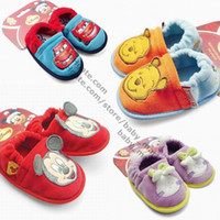Wholesale HOT DISNEYbaby Shoes Baby First Walker Shoes Baby Booties Baby nonskid shoes baby home floor shoes