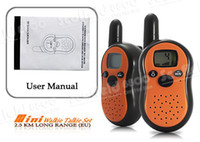 Wholesale Protable Mini Walkie Talkie Intercom Set For Keep In Touth In KM Long Range EU Only