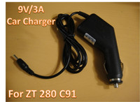 Wholesale High quanlity V A Car Charger fits to ZT280 C91 Android Tablet PC MID