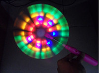 Wholesale hot toys The normal flash windmill electric windmills Music windmill colorful lights