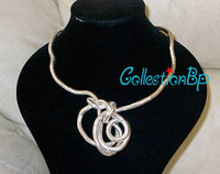 Celtic bendable necklaces jewelry - Hurry Min Order Wear You Like Wear Twisted Necklace mm Thick cm Length Bendable Snake Chain Flexible Twist Jewelry Necklaces