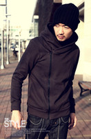 Wholesale hao_bag Men s Hoodies amp Sweatshirts South Korean hooded fleece Men s Hoodies Sweatshirt H001