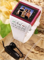 Wholesale Watch cell Phone Q6 Quadband mp3 mp4 bluetooth mobile phone F8 i68 i9