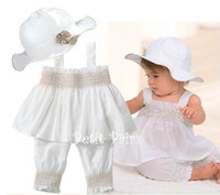 Wholesale New white ultra thin models doomagic cool sling pants hat three pieces set