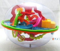 Multicolor Metal Ball free shpping Perplexus Maze Game toy toys Magic -208 intelligence off the ball, football shape