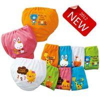 Size 100/110/120/130 baker bread - 2012 New Nissen Colors Bread Pants Baker pants Learning Pants Pants Children Underwear pc