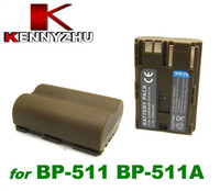 Standard Battery Camera Batteries Canon Camera Rechargeable Lithium Battery 1500mAh For Canon BP-511 BP-511A 50D 40D 30D 20D 5D G1 G2