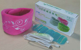 Wholesale New Multi Function Hot Newest USB Neck Massager Care Instrument Green Pink Grey