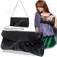 Wholesale Hot Fashion Korea Style Women s Purse Shoulder Clutch Evening Bag Snakeskin PU Leather