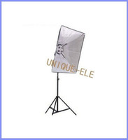 Wholesale 1 to Ceramic Screw socket Photograph Studio Light Stand Softbox Lighting Kit