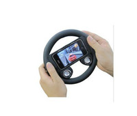 Wholesale Game Wheel Speaker for iPhone S Accessories Game Steering Wheel Plastic Controller Xmas Gift