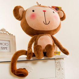 The Monkey Plush Toys 60 CM Large Lovers Monkey Doll Lovers Monkey (Station To Lie Prone Randomly)