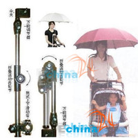 Wholesale Stainless Steel Bicycle Umbrella Stand Umbrella Holder baby strollers stand YA1760