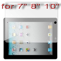 Wholesale Screen Protector for Epad iRobot inch inch zt inch inch inch inch Tablet PC FREESHIP